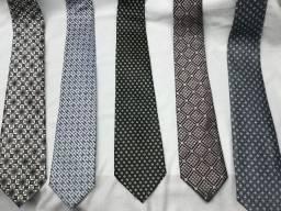 Gravatas, lindo conjunto de 5 unidades