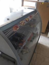 Balcão refrigerado de padaria