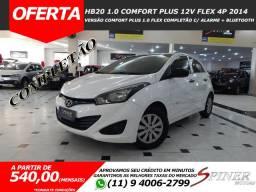 Hyundai HB20 1.0 Comfort Plus 12v Flex 4p Completão Excelente Estado