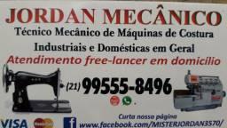 Técnico Mecânico de Máquinas de Costura (Indústriais e Domésticas) em Geral