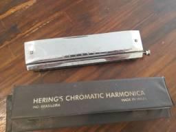 Vendo Gaita de Boca Hering's Deluxe Chromatic 64