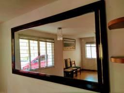 Espelho grande de Parede - 2x1 metros - com moldura em madeira