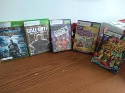 Promoção Relâmpago de jogos Xbox 360 Conjunto com 06 por R$ 300,00 reais