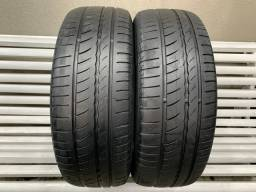 Par de Pneus Pirelli 205 55 16 Cinturato P1 Plus - Pneu 205/55/16