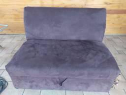 Sofá cama camurça