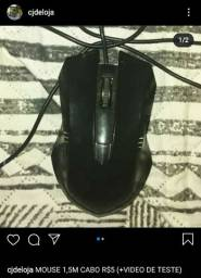 Mouse 1,5m R$5 (LOJA)