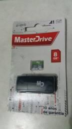 Cartão de memória Masterdrive 8GB