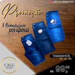 Bermudas Jeans Promocional