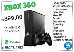 Xbox 360 Desbloqueado + Jogos