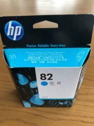 Cartucho HP 82 cor azul