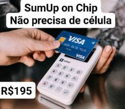 Maquineta SumUp On Chip Novas e lacradas