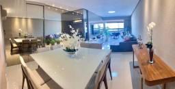 Apartamento Nascente com varanda gourmet integrada e móveis Evviva na Ponta Verde