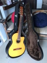 Título do anúncio: Violão e Case Di Giorgio Classic Guitar