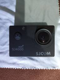 Câmera sjcam 4000 Wi-Fi microfone externo