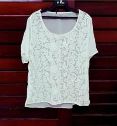 Blusa branca / off white