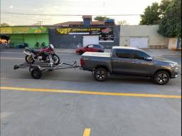 Carreta articulada para motos