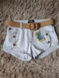 Shorts jeans em promoção