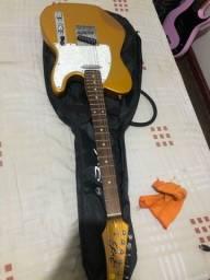 Guitarra telecaster seizi e pedaleira mooer ge100!