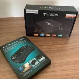 Tvbox + mini teclado