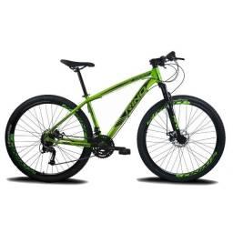 Título do anúncio: Bicicleta Aro 29 Rino Everest 24V - Cambios Index - Verde