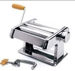 Máquina Macarrão Massa Manual Aço Inox