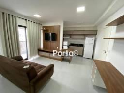 Apto mobiliado de 1 dormitório no Condomínio Unique para alugar, 43 m² por R$ 2.100/mês -