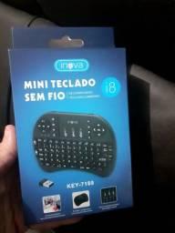 Mini teclado para tv box