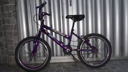 Título do anúncio: Bicicleta feminina de 6 a 10 anos