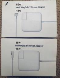 Novo: Carregador MacBook Air Pro Retina Carregador Mac Apple de 45w Temos tambem 60w e 85w