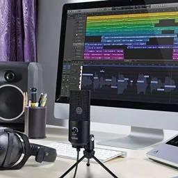 Microfone Condensador FIFINE K669 USB