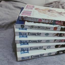 Blue Exorcist, Seven Deadly Sins, Soul Eater NOT!
