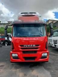 R$ 290.000 Iveco Tector Bi-truck Baú Frigorífico Refrigerado