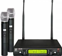 Microfone Staner Duplo
