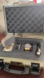 Invicta pro diver e maleta exclusiva com varios acessórios