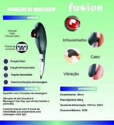 Título do anúncio: Massageador Infravermelho Calor Percussão Fusion Fisiomedic