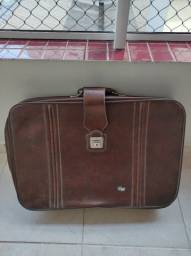 Mala de couro antiga marca Vym Bag