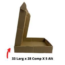 Título do anúncio: Caixa Papelão com Tampa  Correios E-commerce Envios 33 x 28 x 5