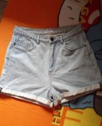 V/Short Jeans Tam 38 usado