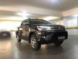 Toyota Hilux SRX Diesel 2018 Preta Automática