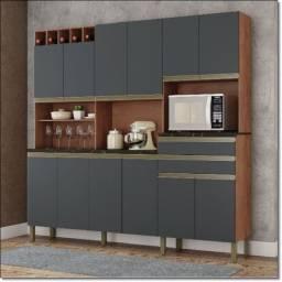 Cozinha Malbec - MDF - 12PTS ( Novo de Fábrica )