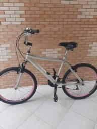 Bicicleta Aro 26 Quadro em Alumínio - Bike