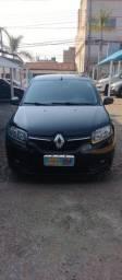 Título do anúncio: Renault Sandero Expression Preto 2015, automatizado