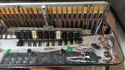 Captação para acordeon MJ manoel Jeneci, modelo DD Dorgival Dantas em perfeito estado.
