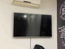 Smart TV SAMSUNG 49 cristal quebrado