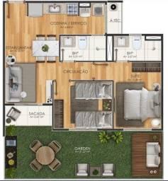 Título do anúncio: Apartamento Garden com 2 dormitórios à venda, 71 m² por R$ 254.580,00 - Guanabara - Ananin