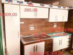 Título do anúncio: Promoção Armário para Cozinha e Banheiro tudo para a sua construção