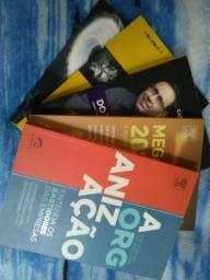 Livros A Organização, Megatrends, Do Zero ao Milhão...