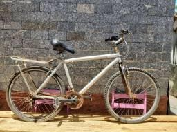 Bicicleta se aluminio troco por caiaque