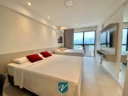Apartamento nascente e mobiliado muitíssimo bem localizado na Ponta Verde