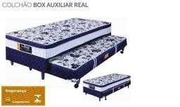 Título do anúncio: Cama box Solteiro C/Auxiliar